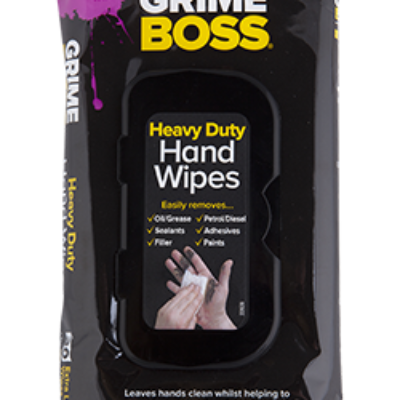 GRIME BOSS HEAVY DUTY HAND WIPES 30PK