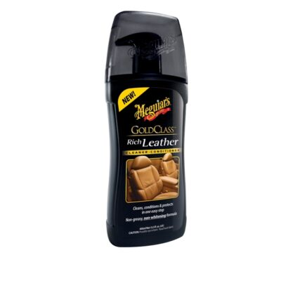 MEGUIARS GOLD CLASS RICH LEATHER CONDITIONER/CLEANER