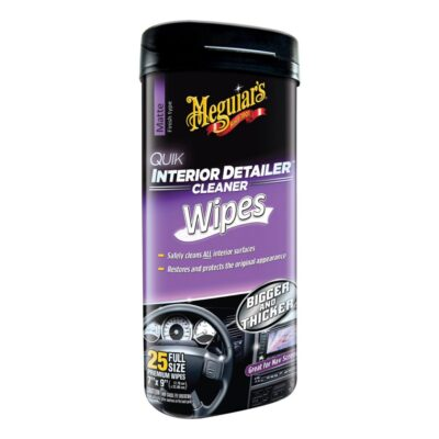 MEGUIARS QUICK INTERIOR DETAILER CLEANER WIPES